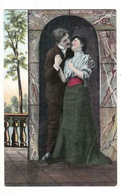 B65. Vintage Greetings  Postcard.You have filled the crevice of my heart.Romance