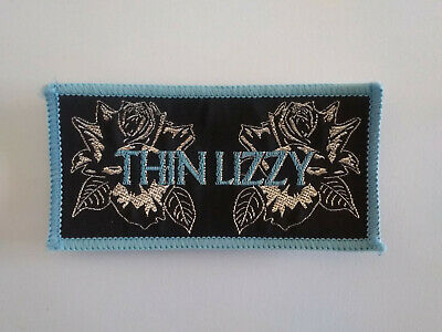 Thin Lizzy - Black Rose - Original Vintage Woven Patch