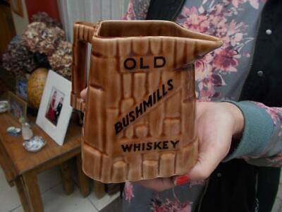 Old Bushmills Whiskey Advertising Jug Arklow Ireland In Lovely Condition