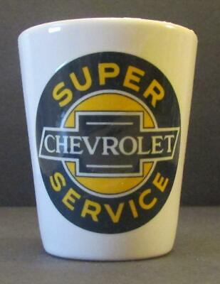 A Very Nice Charming  Super Chevy Service  1  1/2 oz. Shot Glass