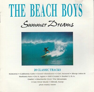 The Beach Boys ‎– Summer Dreams CD 28 Classic Tracks