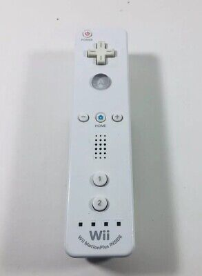 Genuine Official Nintendo Wii U White Remote W/ Motion Plus Inside ML65