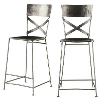 Enjoyable 35 In Toriano Counter Stool Set Of 2 Id 3814618 Squirreltailoven Fun Painted Chair Ideas Images Squirreltailovenorg