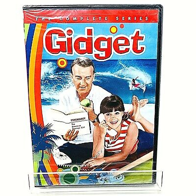 Gidget: The Complete Series (DVD, 2014, 3-Disc Set) NEW