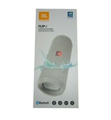 Authentic JBL Flip 4 Waterproof Bluetooth Wireless Portable Stereo Speaker Gray