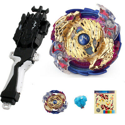 B-97 Beyblade Burst Starter Spinning Toy Bayblade Top Grip Launcher Kids Gift