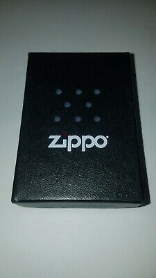 Zippo Lighter Black Crackle Finish Classic Model 236  Windproof NEW IN BOX