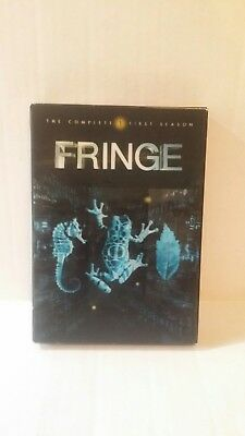 FRINGE SEASON 1 (DVD, 2009, 7-Disc Set) NEW