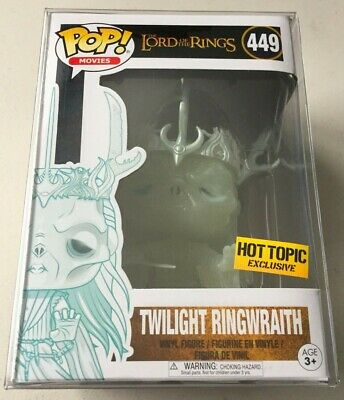 Funko Pop Vinyl Hot Topic Exclusive Lord of the Rings TWILIGHT RINGWRAITH GITD