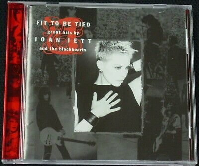 Joan Jett and the Blackhearts - Fit to Be Tied: Great Hits CD (1997, Blackheart)