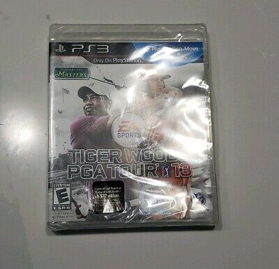 Tiger Woods PGA Tour 13 Sony PlayStation 3 Brand New Factory Sealed Free Shipp!!