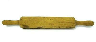 Vintage Used Wood Wooden Rolling Pin Kitchen Tool Baking Accessory Kitchenware
