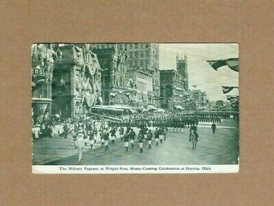 1909 Wright Brothers Welcome Home Coming Celebration Dayton Ohio Photo Postcard!