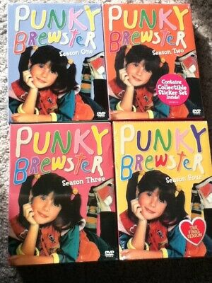 Punky Brewster DVD Complete Series (Seasons 2-4 Are UNOPENED & BRAND NEW) Shout