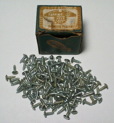 Gross Box of Southern Screw Co. TAPPING Truss Head Cadmium Plated Screws
