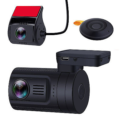 Blueskysea Mini 0906 Dual HD 1080P Len Dash Camera DVR Record Sony IMX291 Sensor