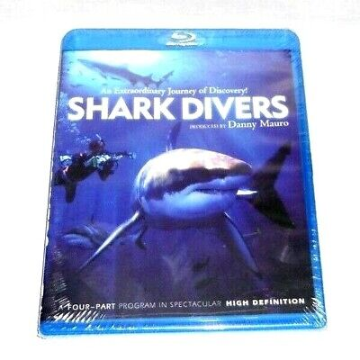 Shark Divers [Blu-ray] New Sealed DVD