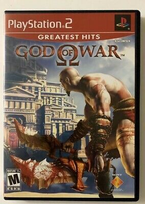 God of War [Greatest Hits] (Sony PlayStation 2, 2005) PS2 Complete FREE SHIPPING