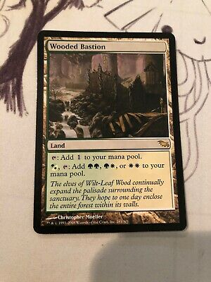 1 PLAYED Fire-Lit Thicket Land Shadowmoor Mtg Magic Rare 1x x1