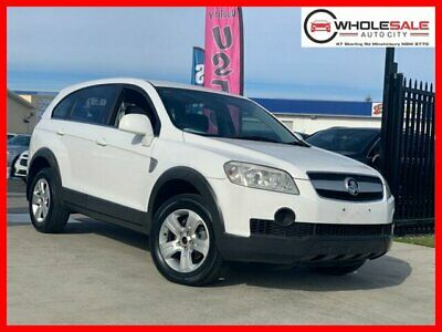 2007 Holden Captiva CG SX White Automatic A Wagon