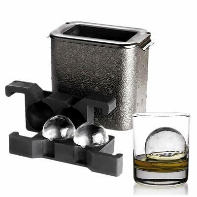 Crystal Clear Ice Ball Maker - Ice Ball Spherical Whiskey Tray Mould Maker