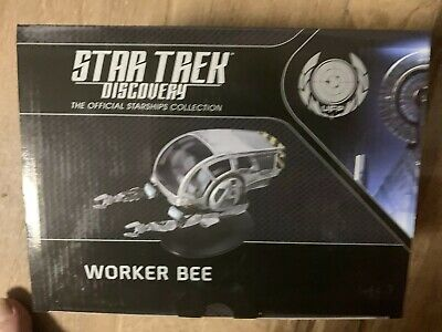 New! Eaglemoss WORKER BEE Star Trek Discovery Collection #13  LQQK NEW!!!