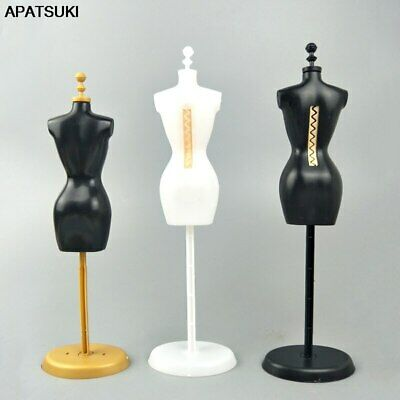 "Display Holder Support For 11.5"" Doll Clothes Outfit Dress Gown Mannequin Model"