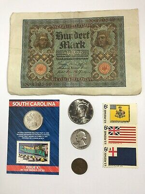Junk Drawer LOT Vintage US Coins