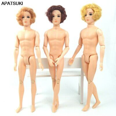 30cm Movable Jointed 1/6 Boy Doll Prince Ken Male MAN Naked Body & Head DIY Toy