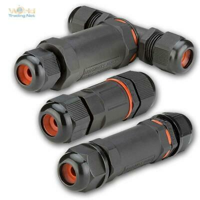 Cable Sleeve Waterproof IP68 230V 3-pin for Underground in Floor,Threaded