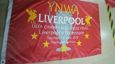 Champions League Final 5ft X 3ft Flag