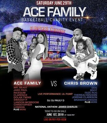 Ace Family Charity Basket Event 2019