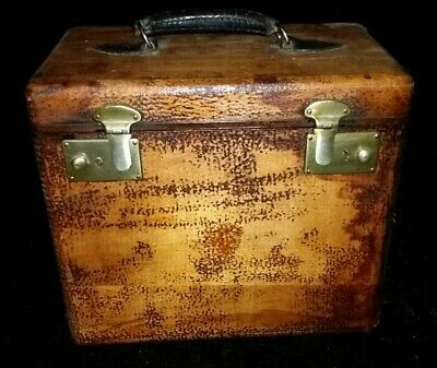 Vintage steampunk styled Carry Case SINGER Featherweight 221/222 suitcase