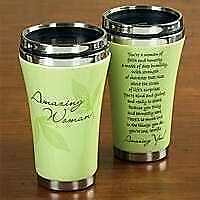 Travel Mug-Amazing Woman-Ceramic