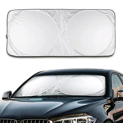 Auto Car Front Rear Window Foldable Jumbo Visor Sun Shade Windshield CoverRe