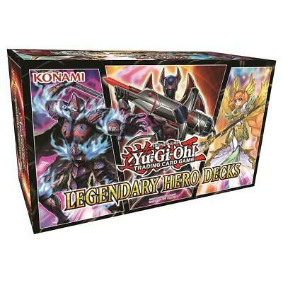 Konami YGO Deck Legendary Hero Decks CCG SW