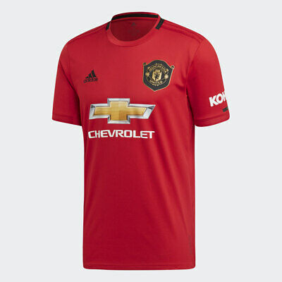 2019 HOT Manchester United Home Shirt 2019-2020 Red Short Sleeve Football Jersey