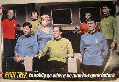 Star Trek Poster To Boldly Go Where No Man Has Gone Before