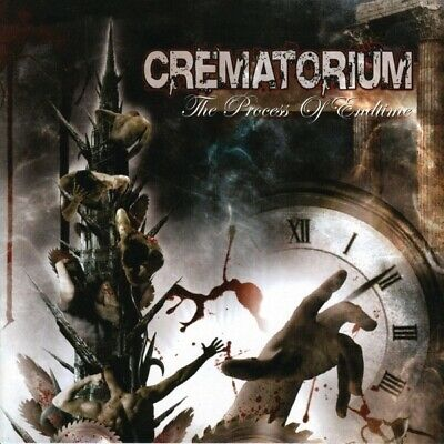 Crematorium The Process Of Endtime CD 2005 Death Metal Hardcore Metal New