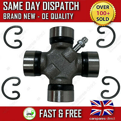 FRONT PROPSHAFT UJ UNIVERSAL JOINT FOR NISSAN NAVARA D40 2.5 3.0 dCi 27x75mm