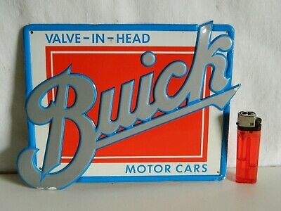 Plaque Buick Valve In Head  Motor Cars  Vintage