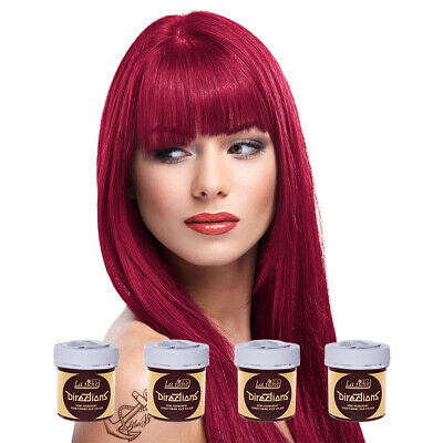 La Riche Directions Semi Permanent Tulip Colour Hair Dye Kit 4 Pack 88ml