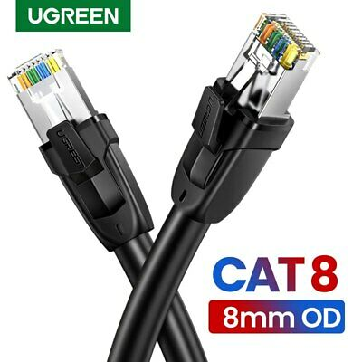 Ugreen Cat 8 Ethernet Cable RJ45 Network Cable UTP Lan Cable Cat 7 Patch Cord