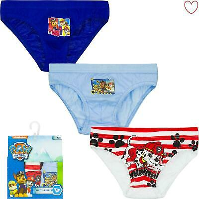 Boys Pants Underwear Character Paw Patrol Kids Briefs Cotton