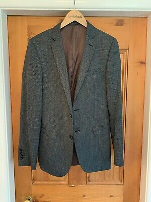 Mens French Connection FCUK Blazer Jacket Size 36 Slim Fit Great Condition