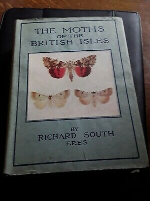 Vintage Book Called The Moths Of The British Isles.
