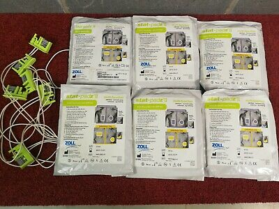 6 Zoll stat padz II defib Electrodes Pads adult for training only 8900-0802-01