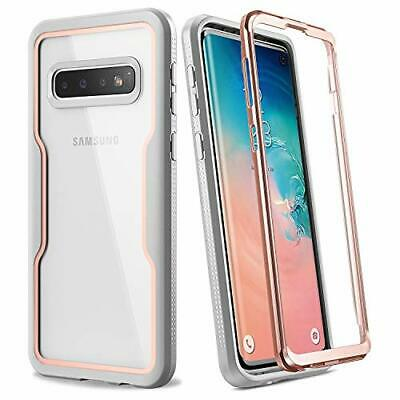 Samsung Galaxy S10 Heavy Duty 360Protection Shockproof Slim Fit PC TPU Gold/Gray
