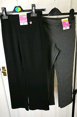 New George Kids Girls Trousers Straight Leg 7-8 Years Active Pants 4 Items GG