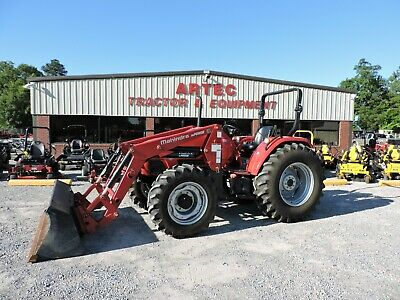 MAHINDRA MAX 22 with Loader , 22HP Tractor with Loader - $9,900 00